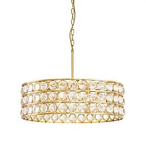 preiswerte Modern Beleuchtung-QIHengZhaoMing 8-Licht Kronleuchter Raumbeleuchtung Lackierte Oberflächen Metall 110-120V / 220-240V Wärm Weiß LED-Lichtquelle enthalten