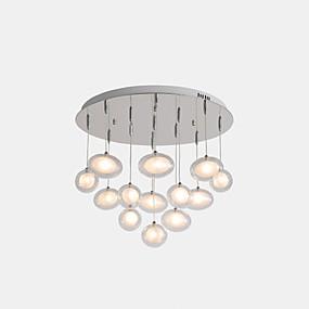 povoljno Viseća rasvjeta-ZHISHU sputnjik Privjesak Svjetla Ambient Light Electroplated Metal Glass LED, New Design 110-120V / 220-240V Meleg fehér / Bijela