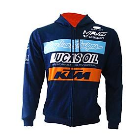 preiswerte Faça Uma Viagem-KTM Motorradkleidung Shirts und Tops für Alles Flanell / Rayon / Polyester Herbst / Winter flexibel / Schnelles Trocknung / Sonnenschutz