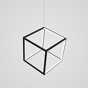 povoljno Lámpatestek-CONTRACTED LED Geometrijski / Noviteti Lusteri Ambient Light Slikano završi Aluminij Prilagodljiv, New Design 110-120V / 220-240V Meleg fehér / Hladno bijela