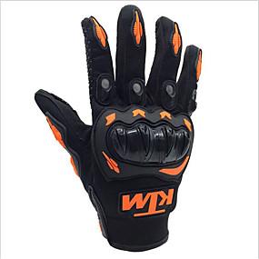 billige Spesialtilbud-ktm motorsykkel hansker menn kjører full finger pustende hansker for motorcross racing ATV smussykkel beskyttelse utendørs