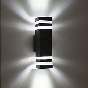 preiswerte Scheinwerfer-1pc 8 W LED Flutlichter Wasserfest Warmes Weiß / Kühles Weiß 85-265 V Außenbeleuchtung / Hof / Garten 8 LED-Perlen