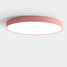 povoljno Lámpatestek-Flush Svjetla Downlight Metal Acrylic Zaštita očiju, Kreativan, WIFI kontrolu 200-240V Zatamnjen daljinskim upravljačem / Topla bijela i bijela
