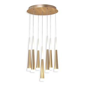 povoljno Viseća rasvjeta-Ecolight™ 7-Light Cilindar / Konus / Noviteti Privjesak Svjetla Ambient Light Anodized Electroplated Aluminij Acrylic Kreativan, Prilagodljiv 110-120V / 220-240V Meleg fehér / Bijela