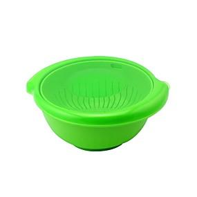 preiswerte Frucht Und Gemüse Geräte-FACKELMANN PP Esszimmer und Küche Früchtekorb Umweltfreundlich Einfach zu tragen Kreative Küche Gadget Küchengeräte Werkzeuge Für Obst Für Gemüse Neuheiten für die Küche 3 Stück