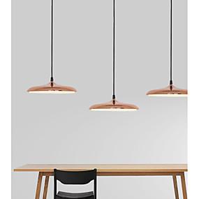 povoljno Viseća rasvjeta-Ecolight™ 3-Light Konus / Mini / Noviteti Privjesak Svjetla Ambient Light Electroplated Metal Acrylic Mini Style, Prilagodljiv, New Design 110-120V / 220-240V Meleg fehér / Bijela