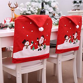 preiswerte Weihnachtsdeko-weihnachtsthema stuhl rückenlehnenbezug dekorativ prop