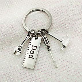 povoljno Privjesci za ključeve-Klasični Tema / Kreativan / Vjenčanje Privjesak favorizira nehrđajući Privjesci za ključeve - 1 pcs Sva doba