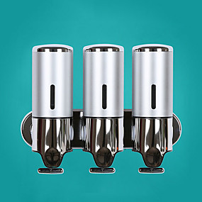 cheap Soap Dispensers-Soap Dispenser Cool / Creative Contemporary Stainless steel 1pc Wall Mounted