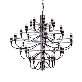 preiswerte Beleuchtung-Ecolight™ Kerzen-Stil Kronleuchter Raumbeleuchtung Galvanisierung Metall Kreativ, Neues Design, Candle-Art 110-120V / 220-240V / E12 / E14 / FCC