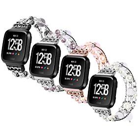preiswerte Smart Watch Band-Metalschale Uhrenarmband Gurt für Apple Watch Series 4/3/2/1 Schwarz / Silber / Lila 23cm / 9 Zoll 2.1cm / 0.83 Inch
