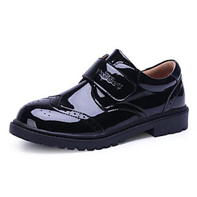 cheap Kids' Oxfords-Boys' Comfort Synthetics Oxfords Toddler(9m-4ys) / Little Kids(4-7ys) / Big Kids(7years +) Magic Tape Black Fall & Winter