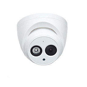 cheap Dahua® IP Cameras-Dahua® IPC-HDW4433C-A 4MP PoE IP Dome Camera Night Vision H.265 Built-in Mic Outdoor Indoor 2.8mm 3.6mm H.265 Built-in Mic Security Surveillance Camera IP67 ONVIF English Fireware