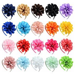 preiswerte Party-Sonstiges Material Stirnbänder mit Einfarbig 1 Stück Freizeitskleidung Kopfschmuck