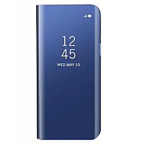 povoljno Maske za mobitele-Θήκη Za Samsung Galaxy S9 / S9 Plus / S8 Plus sa stalkom / Pozlata / Zrcalo Stražnja maska Jednobojni Tvrdo Opeka