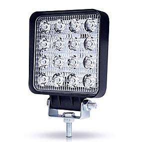 preiswerte Autolicht-JIAWEN 1 Stück Keiner Auto Leuchtbirnen 48 W LED High Performance 4800 lm 16 LED Scheinwerfer / Arbeitsscheinwerfer Für Universal Alle Jahre