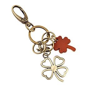 povoljno Privjesci za ključeve-Klasični Tema / Kreativan / Vjenčanje Privjesak favorizira Krom / Teleća koža Privjesci za ključeve - 1 pcs Sva doba