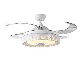 povoljno Lámpatestek-QINGMING® Stropni ventilator Ambient Light Slikano završi Metal LED, Bluetooth kontrola 110-120V / 220-240V Više boja