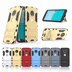 povoljno Maske za mobitele-Θήκη Za Motorola Moto G6 Plus Otporno na trešnju / sa stalkom Stražnja maska Jednobojni Tvrdo PC