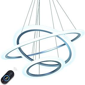 povoljno Viseća rasvjeta-Privjesak Svjetla Ambient Light Others Metal Acrylic Zatamnjen, LED, Zatamnjen daljinskim upravljačem 110-120V / 220-240V Uključen je LED izvor svjetlosti / Integrirano LED svjetlo
