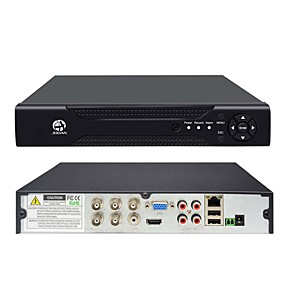 povoljno Sigurnosni sustavi-jooan® 4channel 1080n 5 in 1 (kompatibilni tvi, cvi, ahd, cbvs, ipc) cctv dvr h.264 bez video zapisa sigurnosnog nadzora (960h 1080p hd vga / bnc izlaz pametnog telefona i pc daljinski pristup)