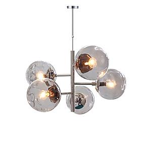 preiswerte Deckenlichter & Ventilatoren-QINGMING® 5-Licht Geometrisch Kronleuchter Raumbeleuchtung Galvanisierung Metall Ministil 110-120V / 220-240V
