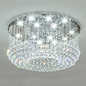 cheap Ceiling Lights & Fans-12 Bulbs 80 cm Crystal Metal Traditional / Classic / Country 110-120V / 220-240V / GU10
