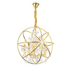 povoljno Viseća rasvjeta-ZHISHU 5-Light Glob / Fenjer Privjesak Svjetla Uplight Electroplated Metal Kreativan 110-120V / 220-240V