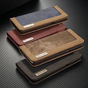 povoljno Maske za mobitele-Θήκη Za Samsung Galaxy S9 / S9 Plus / S8 Plus Novčanik / Utor za kartice / sa stalkom Korice Jednobojni Tvrdo Tekstil