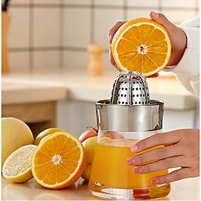 preiswerte Frucht Und Gemüse Geräte-Qualität manuelle Entsafter Home Orange Zitronensaft Maker Glasbehälter