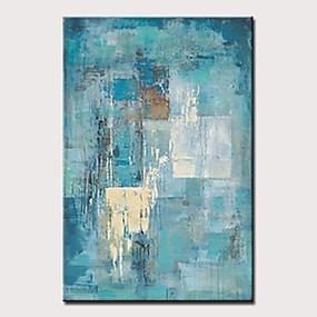 povoljno Slike za cvjetnim/biljnim motivima-Hang oslikana uljanim bojama Ručno oslikana - Sažetak Cvjetni / Botanički Moderna Bez unutrašnje Frame / Valjani platno