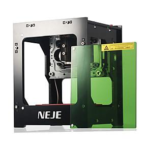 cheap Computer & Office-NEJE DK-8-KZ 1000mW Blue Violet Laser Engraving Machine Mini Desktop DIY Engraver Protective Panel