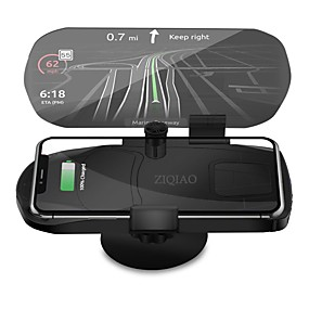 cheap Head Up Display-ZIQIAO Universal Wireless Charger Navigation Bracket HUD Head Up Display