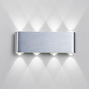preiswerte Einbau-Wandleuchten-Moderne zeitgenössische Korridor Metall Wandleuchte 85-265V / integrierte LED