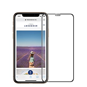 cheap Phones & Accessories-AppleScreen ProtectoriPhone XS High Definition (HD) Front Screen Protector 1 pc Tempered Glass