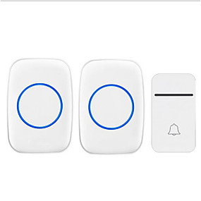 cheap Doorbell Systems-Factory OEM Wireless One to Two Doorbell Music / Ding dong Non-visual doorbell Surface Mounted