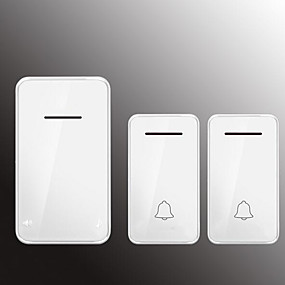 cheap Doorbell Systems-Factory OEM Wireless Two to One Doorbell Music / Ding dong Non-visual doorbell Surface Mounted