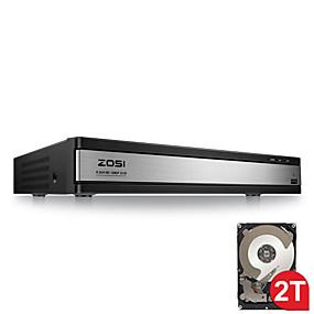 preiswerte DVRs & DVR Karten-zosi® hd 1080p 16ch dvr videoüberwachungsgerät h.264 p2p dvr recorder telefonsteuerung für überwachungskamerasicherheitssystem