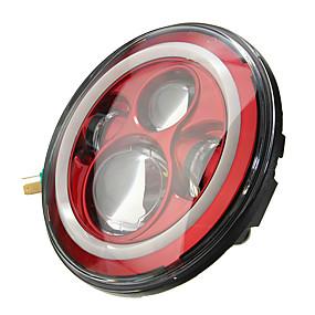 preiswerte Car Signal Lights-7 zoll 6000 karat led hallo lo scheinwerfer halo winkel augen weiß drl rot licht für jeep wrangler