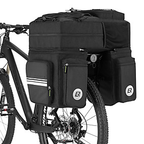 preiswerte Fahrrad Kurier Taschen,Rucksäcke & Hüfttaschen-ROCKBROS 48 L Fahrrad Kofferraum Tasche / Fahrradtasche Fahrrad Kofferraum Taschen 3 in 1 Multifunktions Hohe Kapazität Fahrradtasche Nylon 600D PVC Tasche für das Rad Fahrradtasche Rennrad Geländerad