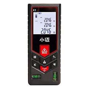 preiswerte Electronics-MILESEEY Mini-Meters 0.05-120m Laser-Entfernungsmesser Tragbar / Leichte Bedienung für die technische Messung / für die Verkehrssicherheit / für den Hochbau