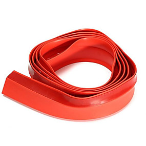 levne Dekorace automobilových nárazníků-2.5m x4.5cm přední nárazník automobilu nárazník páska spoiler gumová ochrana