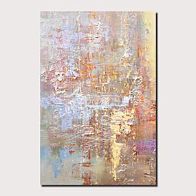 povoljno Slike krajolika-Hang oslikana uljanim bojama Ručno oslikana - Sažetak Pejzaž Comtemporary Moderna Uključi Unutarnji okvir