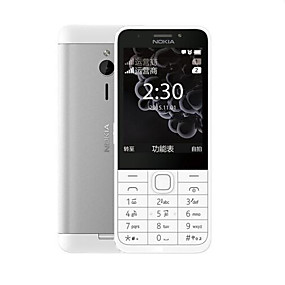 "preiswerte Feature-Telefone-NOKIA 230ds 2.8 Zoll "" Handy (+ 2 mp Andere 1200 mAh mAh)"