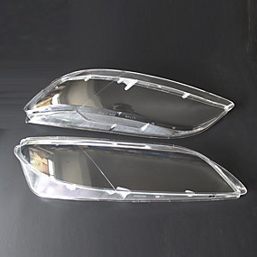billige Tilbehør til eksteriør-2pcs Bil Billysdeksler Transparent Nytt Design til Hodelykt Til Mazda Mazda6 2003 / 2004 / 2005