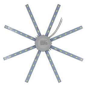 preiswerte LED Einbauleuchten-Hohe helle led deckenleuchte rohr energiesparende innenlampe 12 watt 16 watt 24 watt 220 v platine modifizierte birnenplatte krake lichter