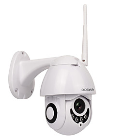 cheap Specials & Offers-DIDSeth® 1080P 2MP Outdoor WiFi PTZ Camera Dome IP Camera Wireless Security Camera Support 128 GB 3.6mm Lens Two Way Audio IP66 Waterproof Onvif Protocol Motion Detection