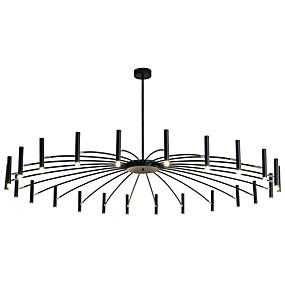 povoljno Lámpatestek-ZHISHU Geometrijski / Noviteti Lusteri Ambient Light Slikano završi Metal Kreativan, New Design 110-120V / 220-240V Meleg fehér / Bijela