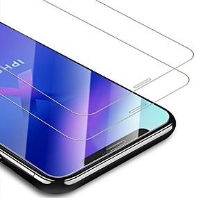 preiswerte Cooho-AppleScreen ProtectoriPhone XS High Definition (HD) Vorderer Bildschirmschutz 2 Stück Hartglas