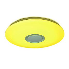 povoljno Lámpatestek-YWXLIGHT® Flush Svjetla Ambient Light Acrylic Višebojno sjenilo, Zatamnjen, Prijelaz boje 85-265V RGB